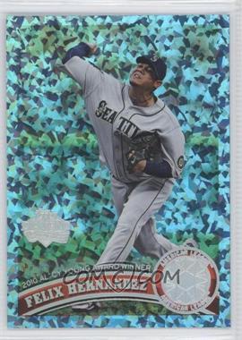 2011 Topps - [Base] - Hope Diamond Anniversary #168 - Felix Hernandez /60