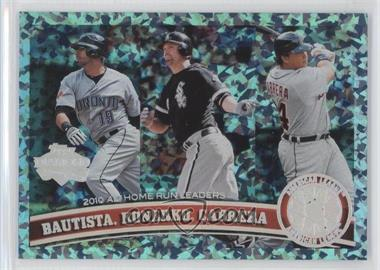 2011 Topps - [Base] - Hope Diamond Anniversary #202 - Paul Konerko, Jose Bautista, Miguel Cabrera /60