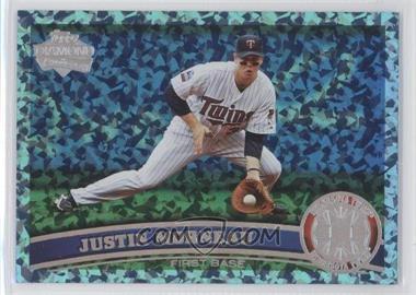 2011 Topps - [Base] - Hope Diamond Anniversary #293.1 - Justin Morneau (Base) /60
