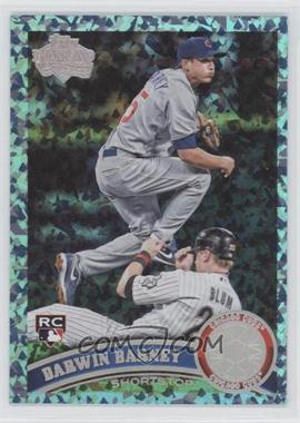 2011 Topps - [Base] - Hope Diamond Anniversary #347 - Darwin Barney /60
