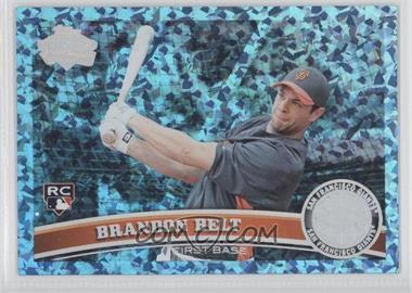 2011 Topps - [Base] - Hope Diamond Anniversary #605 - Brandon Belt /60