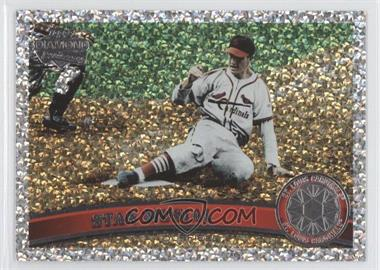 2011 Topps - [Base] - Platinum Diamond Anniversary #100.2 - Stan Musial (Legends)