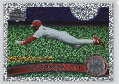 2011 Topps - [Base] - Platinum Diamond Anniversary #199.2 - Ozzie Smith (Legends)