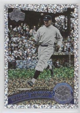 2011 Topps - [Base] - Platinum Diamond Anniversary #300.2 - Walter Johnson (Legends)