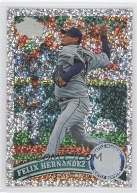 2011 Topps - [Base] - Platinum Diamond Anniversary #530.1 - Felix Hernandez (Base)