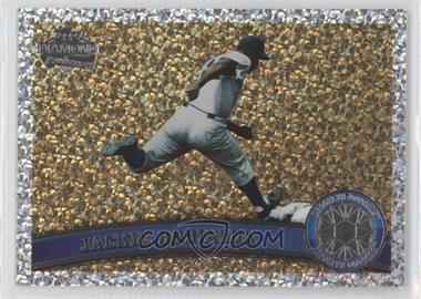 2011 Topps - [Base] - Platinum Diamond Anniversary #80.2 - Jackie Robinson (Legends)