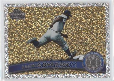 2011 Topps - [Base] - Platinum Diamond Anniversary #80.2 - Jackie Robinson (Legends)
