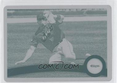 2011 Topps - [Base] - Printing Plate Cyan #588 - Rajai Davis /1