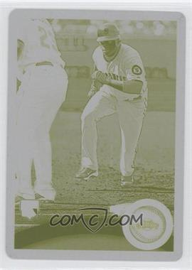 2011 Topps - [Base] - Printing Plate Yellow #292 - Darren Ford /1