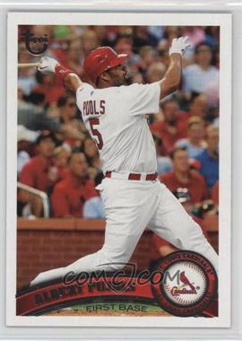 2011 Topps - [Base] - Target Throwback #100 - Albert Pujols
