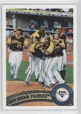 2011 Topps - [Base] - Target Throwback #126 - San Diego Padres Team