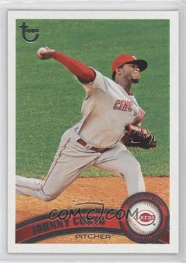 2011 Topps - [Base] - Target Throwback #142 - Johnny Cueto