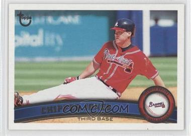 2011 Topps - [Base] - Target Throwback #169 - Chipper Jones