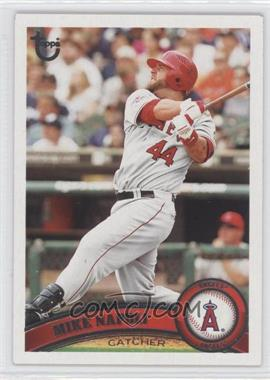 2011 Topps - [Base] - Target Throwback #201 - Mike Napoli