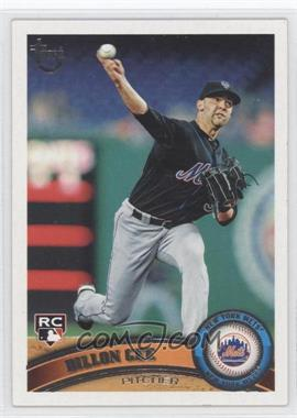 2011 Topps - [Base] - Target Throwback #203 - Dillon Gee