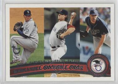 2011 Topps - [Base] - Target Throwback #235 - Felix Hernandez, Clay Buchholz, David Price