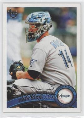 2011 Topps - [Base] - Target Throwback #296 - John Buck