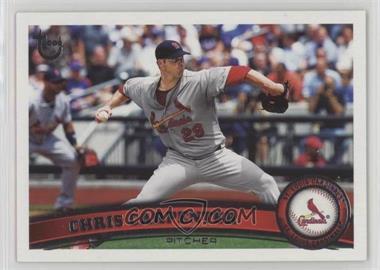 2011 Topps - [Base] - Target Throwback #299 - Chris Carpenter
