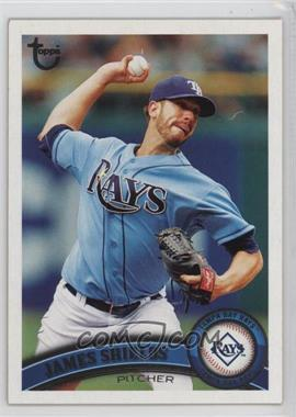 2011 Topps - [Base] - Target Throwback #311 - James Shields