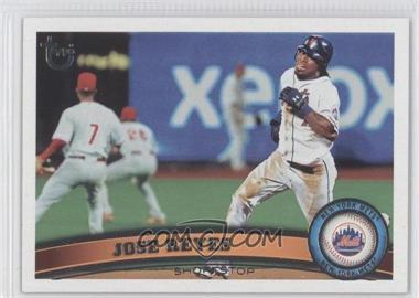 2011 Topps - [Base] - Target Throwback #380 - Jose Reyes