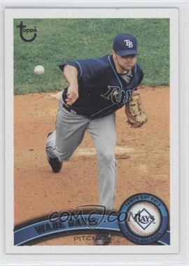 2011 Topps - [Base] - Target Throwback #467 - Wade Davis