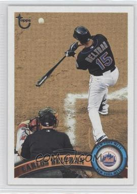 2011 Topps - [Base] - Target Throwback #515 - Carlos Beltran