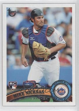 2011 Topps - [Base] - Target Throwback #523 - Mike Nickeas
