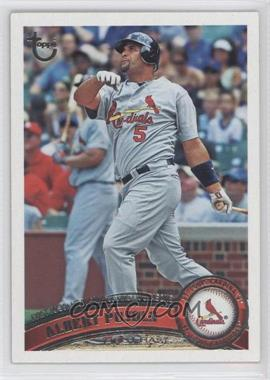 2011 Topps - [Base] - Target Throwback #547 - Albert Pujols