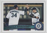 Seattle Mariners (Felix Hernandez, Ichiro Suzuki)