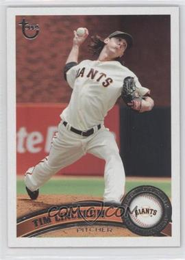 2011 Topps - [Base] - Target Throwback #590 - Tim Lincecum