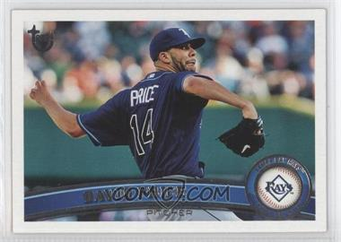2011 Topps - [Base] - Target Throwback #61 - David Price