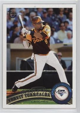 2011 Topps - [Base] - Target Throwback #64 - Yorvit Torrealba