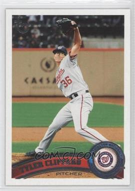 2011 Topps - [Base] - Target Throwback #74 - Tyler Clippard
