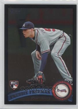 2011 Topps - [Base] - Wal-Mart All-Black #145 - Freddie Freeman