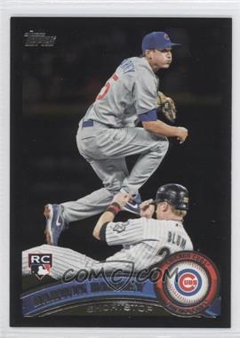 2011 Topps - [Base] - Wal-Mart All-Black #347 - Darwin Barney