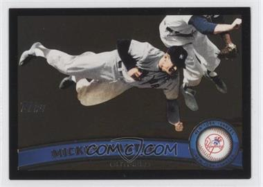 2011 Topps - [Base] - Wal-Mart All-Black #7 - Mickey Mantle