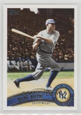 2011 Topps - [Base] #271.2 - Babe Ruth (Legends)
