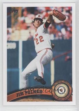 2011 Topps - [Base] #393.2 - Jim Palmer (Legends)