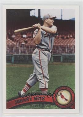 2011 Topps - [Base] #425.2 - Johnny Mize (Legends)