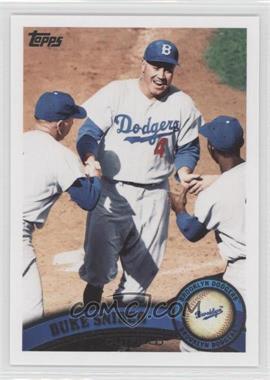 2011 Topps - [Base] #490.2 - Duke Snider (Legends)