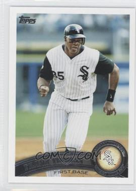 2011 Topps - [Base] #93.2 - Frank Thomas (Legends)
