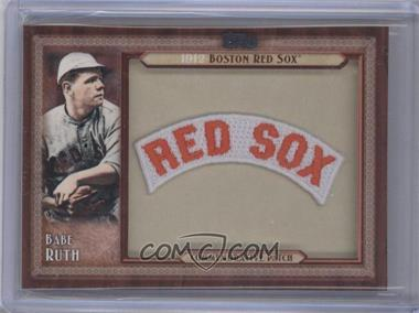 2011 Topps - Blaster Box Throwback Manufactured Patch #TLMP-BR - Babe Ruth