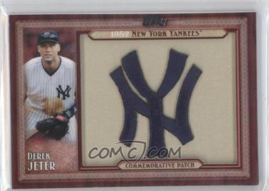 2011 Topps - Blaster Box Throwback Manufactured Patch #TLMP-DJ - Derek Jeter