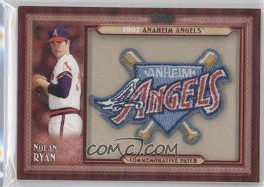 2011 Topps - Blaster Box Throwback Manufactured Patch #TLMP-NR.1 - Nolan Ryan (Anaheim Angels)