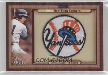 2011 Topps - Blaster Box Throwback Manufactured Patch #TLMP-PO - Paul O'Neill