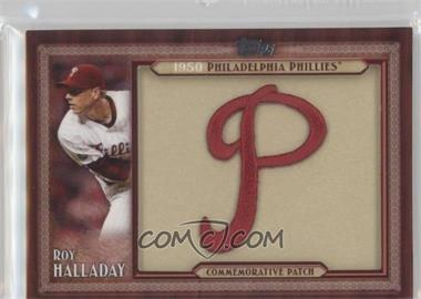 2011 Topps - Blaster Box Throwback Manufactured Patch #TLMP-RH - Roy Halladay