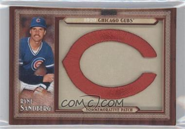 2011 Topps - Blaster Box Throwback Manufactured Patch #TLMP-RS - Ryne Sandberg