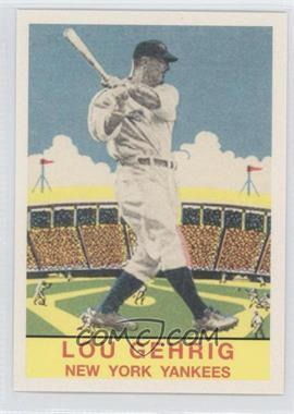 2011 Topps - CMG Worldwide Vintage Reprints #CMGR-21 - Lou Gehrig