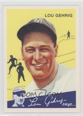 2011 Topps - CMG Worldwide Vintage Reprints #CMGR-24 - Lou Gehrig