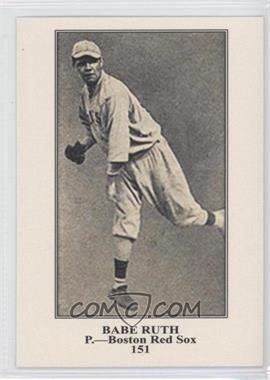 2011 Topps - CMG Worldwide Vintage Reprints #CMGR-4 - Babe Ruth